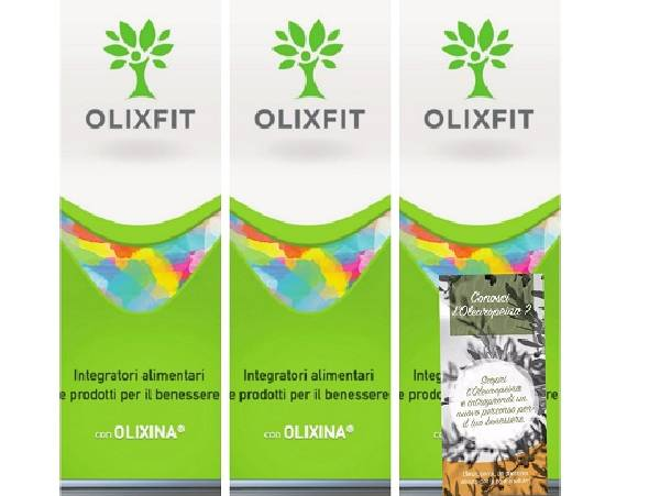 Foto N°3 Roll Up OLIXFIT + 100 Volantini